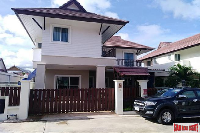 3 bedroom house fully furnished at the quiet area for sale - East Pattaya