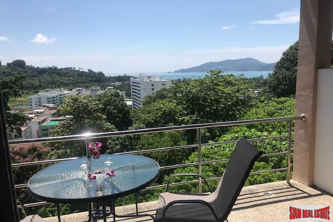 Sea & Mountain Views from this Hillside Two Bedroom Condo in Patong