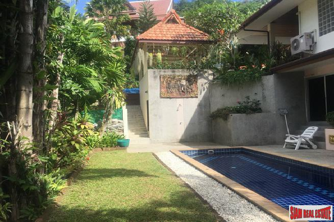 Comfortable 2+ Bedroom Home  with Pool on the Breezy Hillside of Chalong