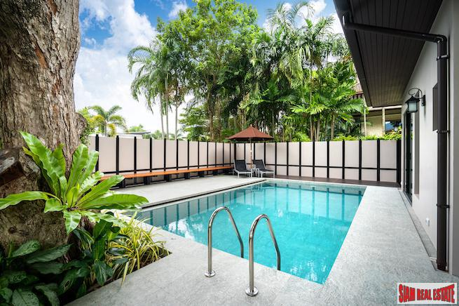 New Modern Three Bedroom Shady & Breezy  Pool Villa in Nai Harn