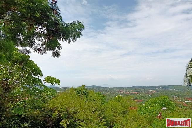 Sea View Land Plots For Sale in Rawai - Three Plots Available - A Rare Find!