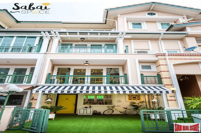 Crystal Ville | Stunning Hi-End Furnished Townhome in Lad Phrao