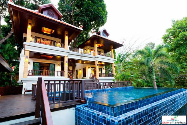 Magnificent 4 Bedroom Pool Villa For Rent Surrounded by Woods in Nai Harn Private Estate