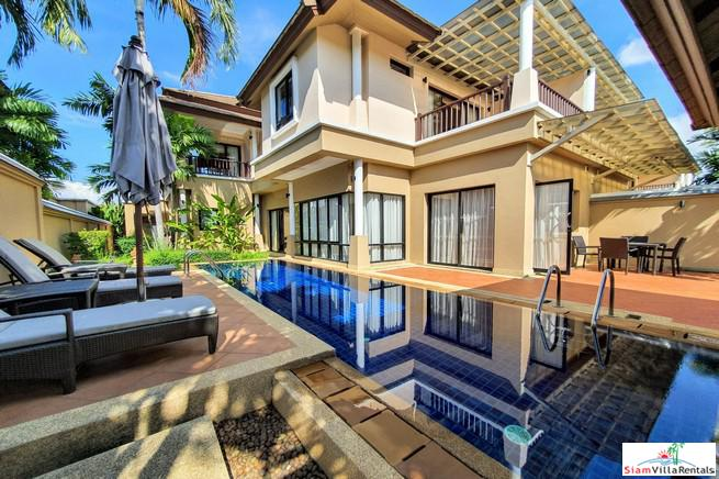 Two Storey Three Bedroom House with Private Pool in Laguna
