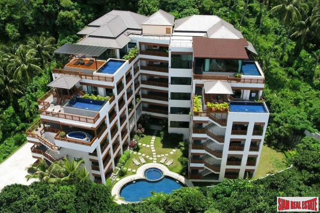 Spacious Two Bedroom Condo Within Walking Distance to Surin Beach