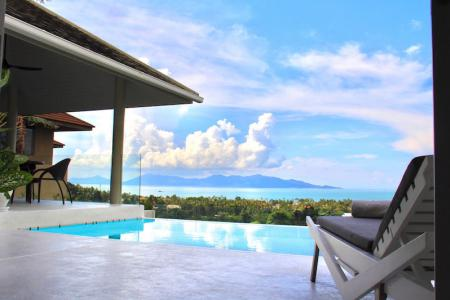 KOH SAMUI VILLA WITH STUNNING SEA VIEWS FOR SALE S1698