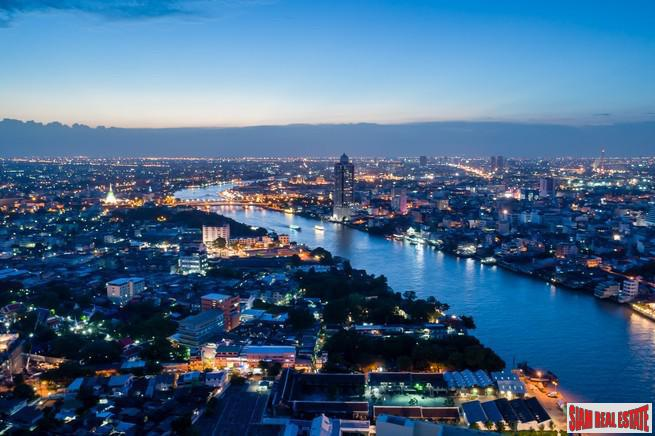 Exclusive Newly Completed Luxury Condo with Spectacular Panoramic Chao Phraya River Views - One  Bedroom