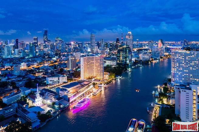 Exclusive New Development with Spectacular Panoramic Chao Phraya River Views - Two Bedrooms