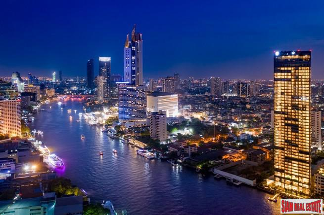 Exclusive Newly Completed Luxury Condo with Spectacular Panoramic Chao Phraya River Views - Four Bedroom Duplex