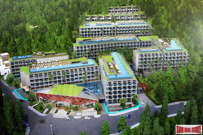 New Luxury Surin Beach Resort-style Development - One, Two and Three Bedrooms