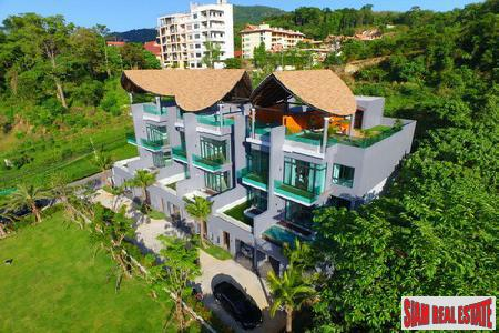 Bukit Patong Villas | Contemporary Two-Bedroom House with Pool for Rent in New Patong Development i