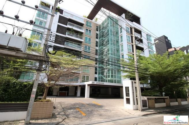Bright and Quiet Newly Renovated Two Bedroom Condo for Rent in Asok