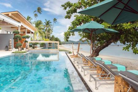 OPULENT KOH SAMUI BEACHFRONT VILLA FOR SALE S1712