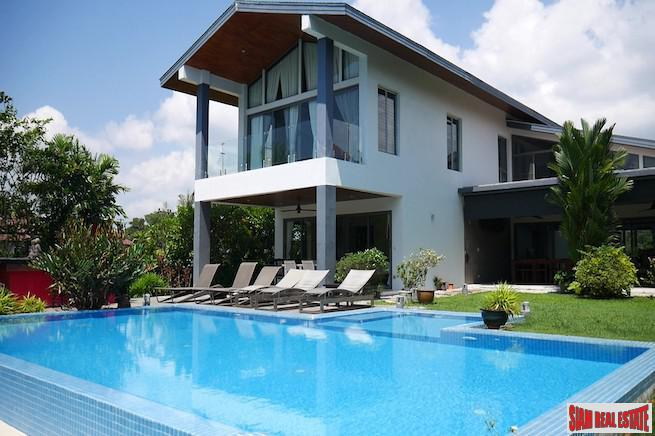 Spacious, Modern and Exclusive Five Bedroom Pool Villa on Laguna Golf Course