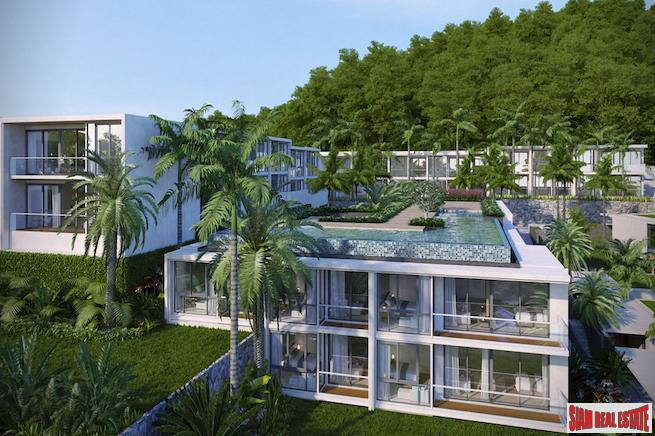 New One and Two Bedroom Luxury Condos in a Tropical  Rainforest Project, Karon