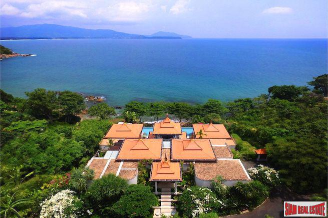 Exceptional Unique Ocean Front Pool Villa Overlooking the Andaman Sea in Layan