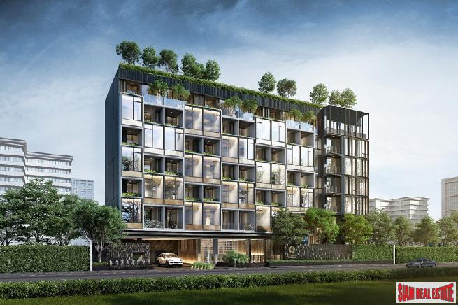 Exclusive Pre-Sale of New Luxury Low-Rise Smart Condo in Middle of Thong Lor, Bangkok - One Bed Plus Units