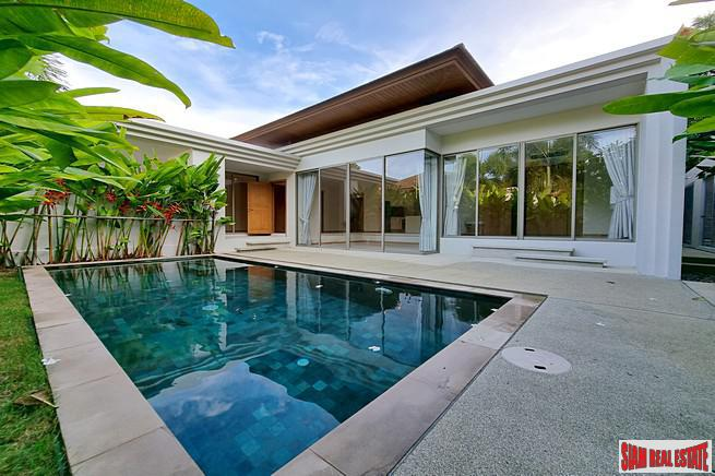 For Sale Two Bedroom Pool Villa in Cherng Talay, Less than 5 minutes to Layan Beach