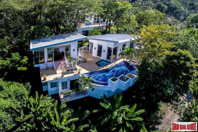 Unique Two Storey Sea View Pool Villa for Sale on the Hillside Overlooking Kamala Beach