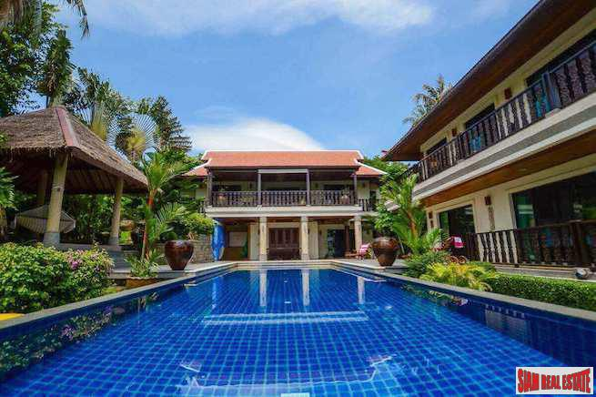 Baan Bua | Luxurious Four Bedroom Pool Villa for Rent in Nai Harn's Most Prestigious Estate