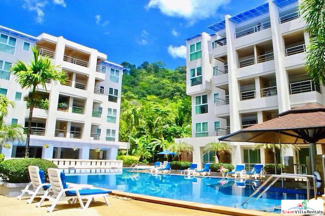 Patong Harbor View Condo | Fully Furnished Two Bedroom  Condo with Pool Views for Rent