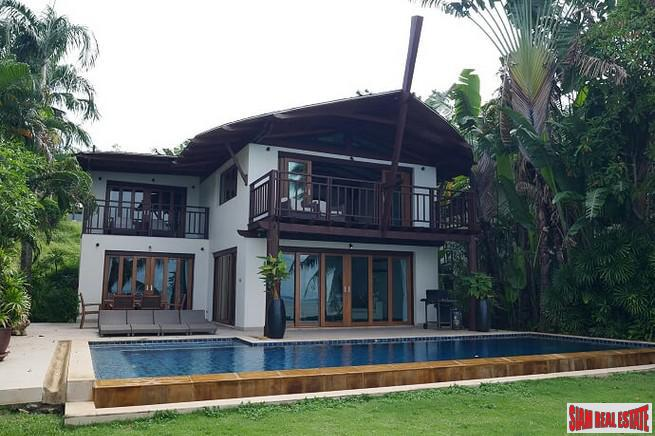 Three Bedroom Beachfront House for Rent in a Resort Atmosphere,  Koh Maprao, Phuket