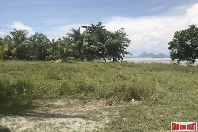 Large Land Plot with Incredible Phang Nga Bay Views and  Beachfront Access