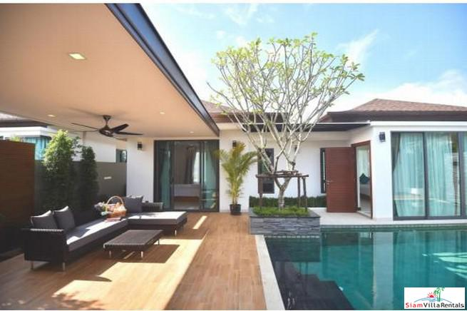 New Private & Secure Three Bedroom Pool Villa for Rent in Cherng Talay