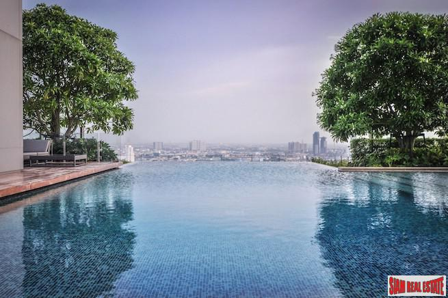 Ultra Luxurious One Bedroom Condo Just Steps to BTS Surasak