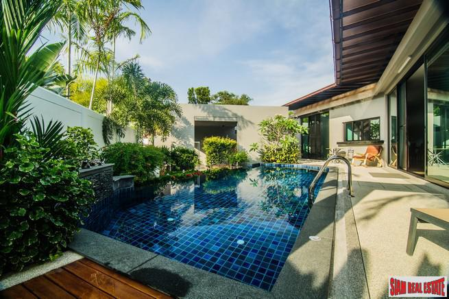 Baan Bua | Quiet and Private Two Bedroom Pool Villa in Nai Harn's Premium Estate