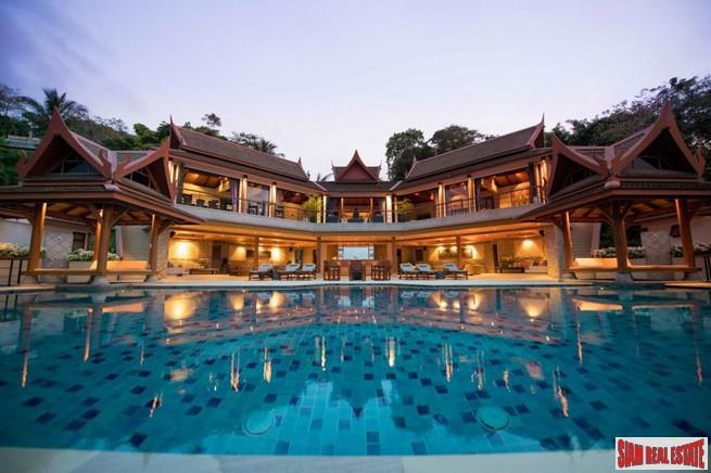 Rak Tawan | Luxurious Ultra-Private Sea View Villa for Rent in the Hills of Surin