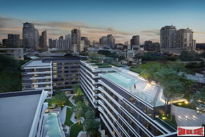 High Quality Newly Completed Low-Rise Condo at Ekkamai by Leading Thai Developer - Three Bed Units