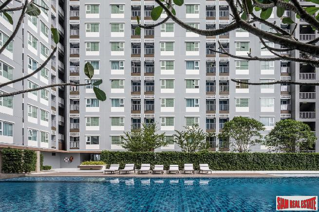 Large Residential Condo Ready to Move In at Chang Erawan BTS, Sukhumvit Road - Two Bed Units