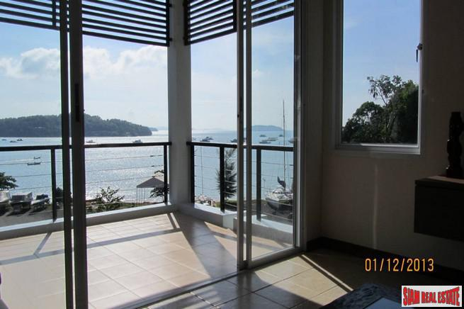 Cool apartment overlooking the bay at Ao Phor.