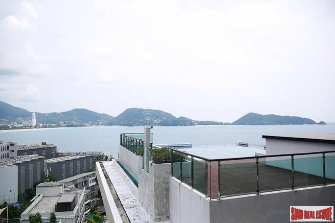 Sea Views  of Patong Bay from this One Bedroom Condo with Plunge Pool in Kalim