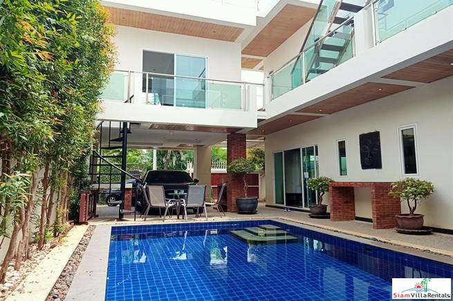 Newly Renovated Two Storey Three Bedroom Pool Villa for Rent Minutes from Nai Harn Beach