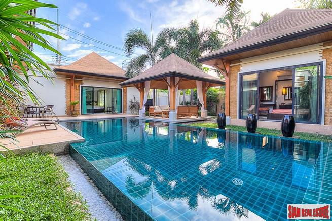 Luxurious Three Bedroom Rawai Pool Villa with Private Pool and Separate Master Bedroom Pavilion