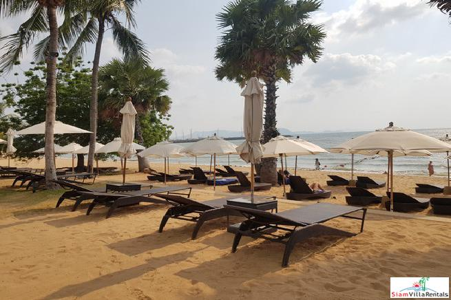 Luxury Beachfront Condo For Rent in Na Jomtien-Pattaya