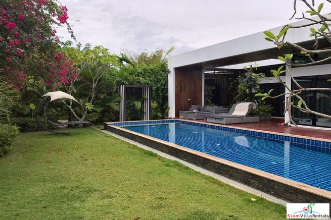 Modern Pool Villa For Rent Near Mabprachan Lake