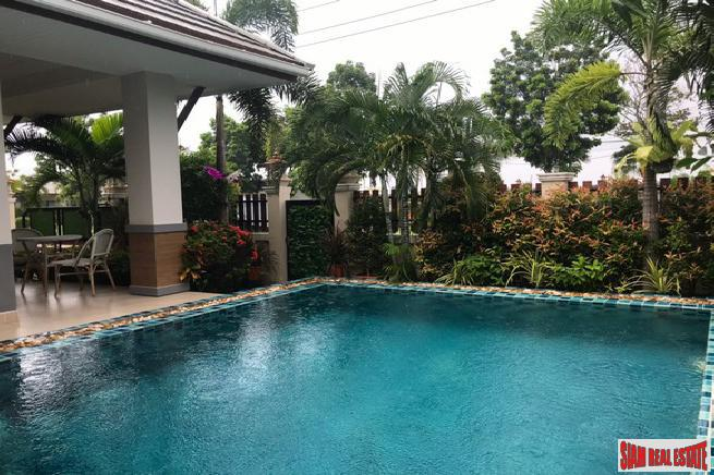 For Sale-3 bedrooms Pool Villa in Na Jomtien Pattaya