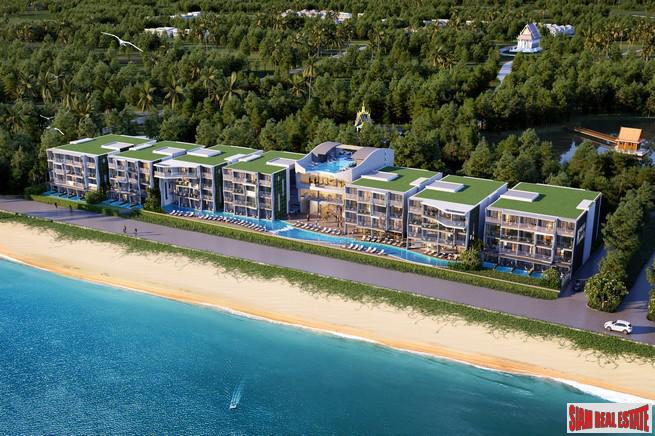 Sea View One Bedroom and Hotel Branded Development for Sale at Mai Khao Beach, Phuket