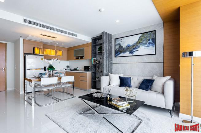 Beautiful Renovated Large One Bed with Two Balconies on 21st Floor at Sathorn Heritage