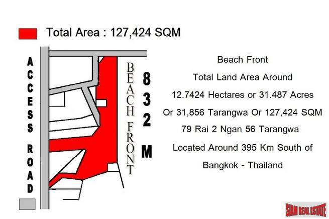 Six Special Beachfront Land Plots 11