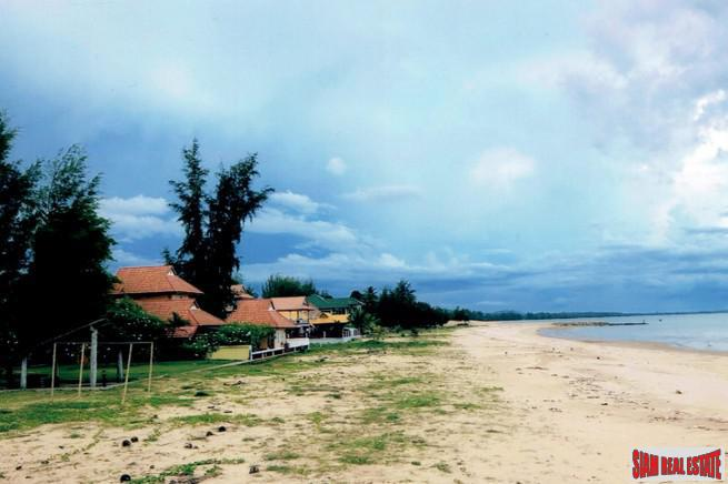 Six Special Beachfront Land Plots 3