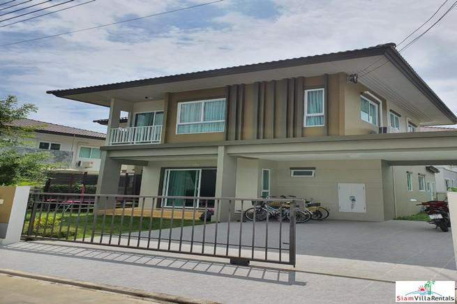 Extremely Modern Two Storey Four Bedroom House for Rent in Koh Kaew