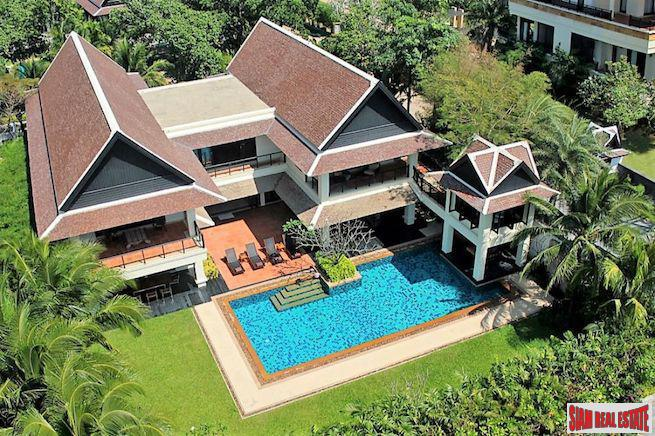Steps to the Beach a Six Bedroom Villa is for Sale in  Layan