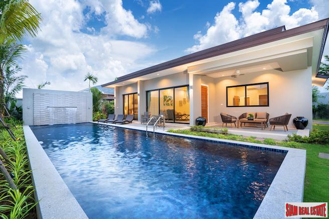 Luxury Pool Villa Located in New Secure Development in Layan, Phuket