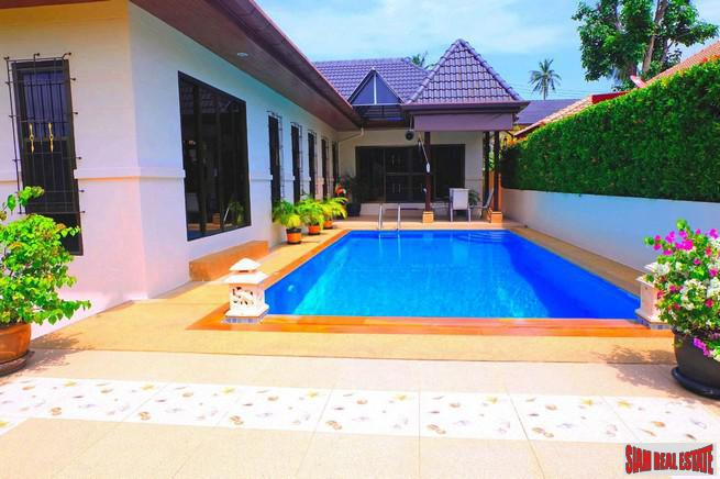 Family Pool Villa in Rawai only 200 meters to the Sea