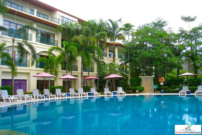 Baan Puri Apartments | Modern Fully Equipped 100 sqm Two Bedroom Standard Apartment for Rent