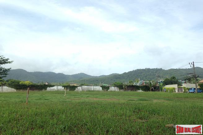Three Rai Land Plot  with Convenient Access in a Quiet Area of Thalang